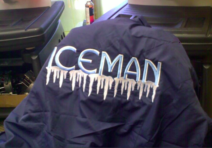 Custom jacket embroidery
